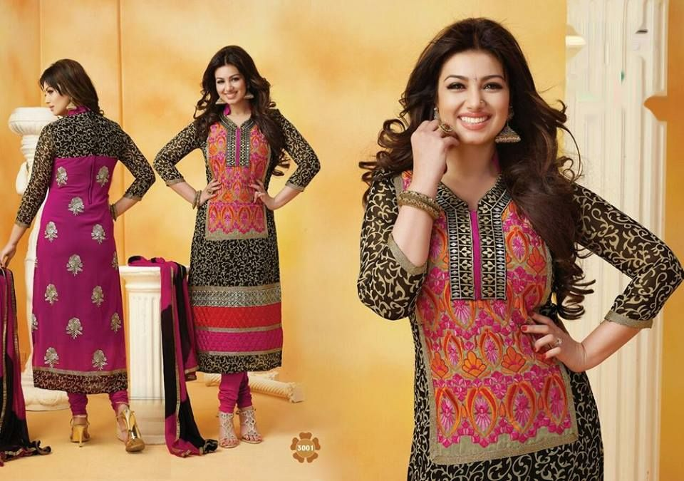 Avail Flat 20% discount Product code: AKT3-3001 Price 2800 Georgette Embroidered, Semi Stitched / Party Wear For bookings call or whatsapp at #09811134816