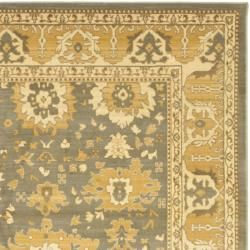 Safavieh Heirloom Grey Blue Gold Loomed Rug 6 7 X 9 1 By