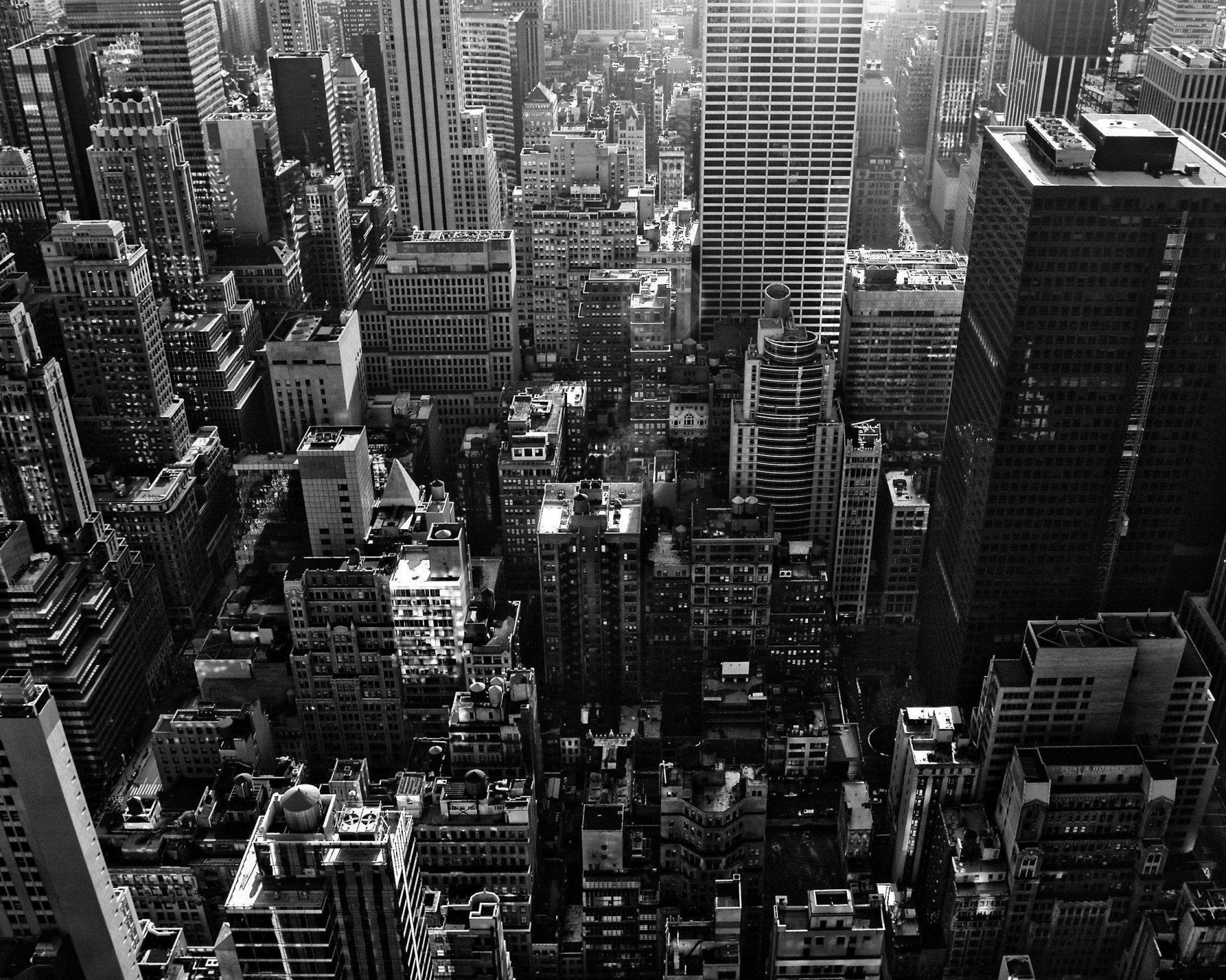 manhattan new york black and white city black and white