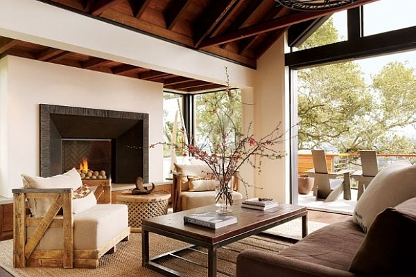 Luxurious Living Room Concepts: 25 Amazing Decorating Ideas | Wooden  Furniture, Living Rooms And Room