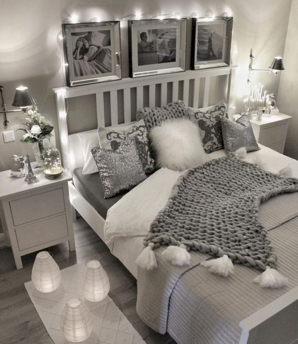 70 Cozy Apartment Bedroom Ideas Woman Bedroom Apartment Bedroom Decor Small Room Bedroom