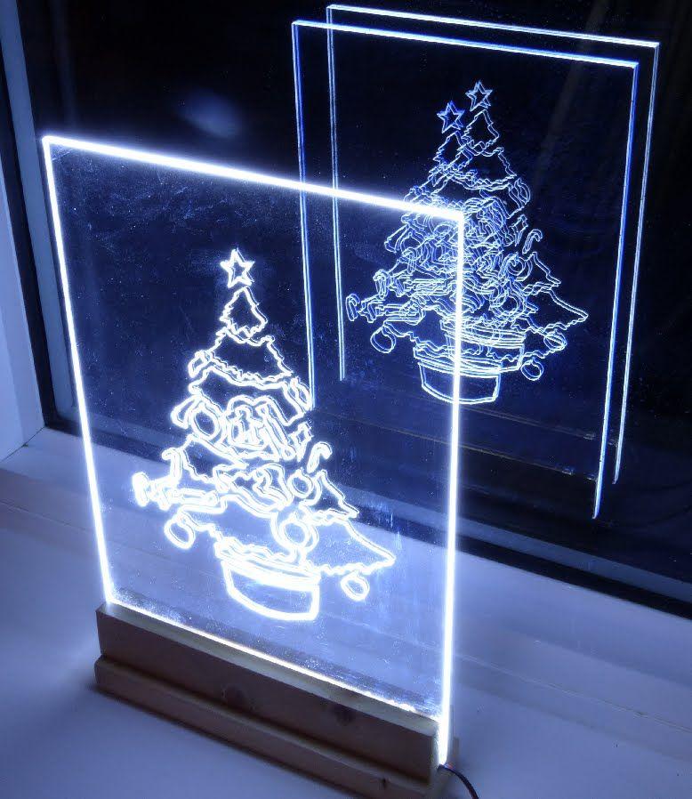 un de Navidad de luz de borde hacer la muestra Cómo árbol gmvIYbf76y