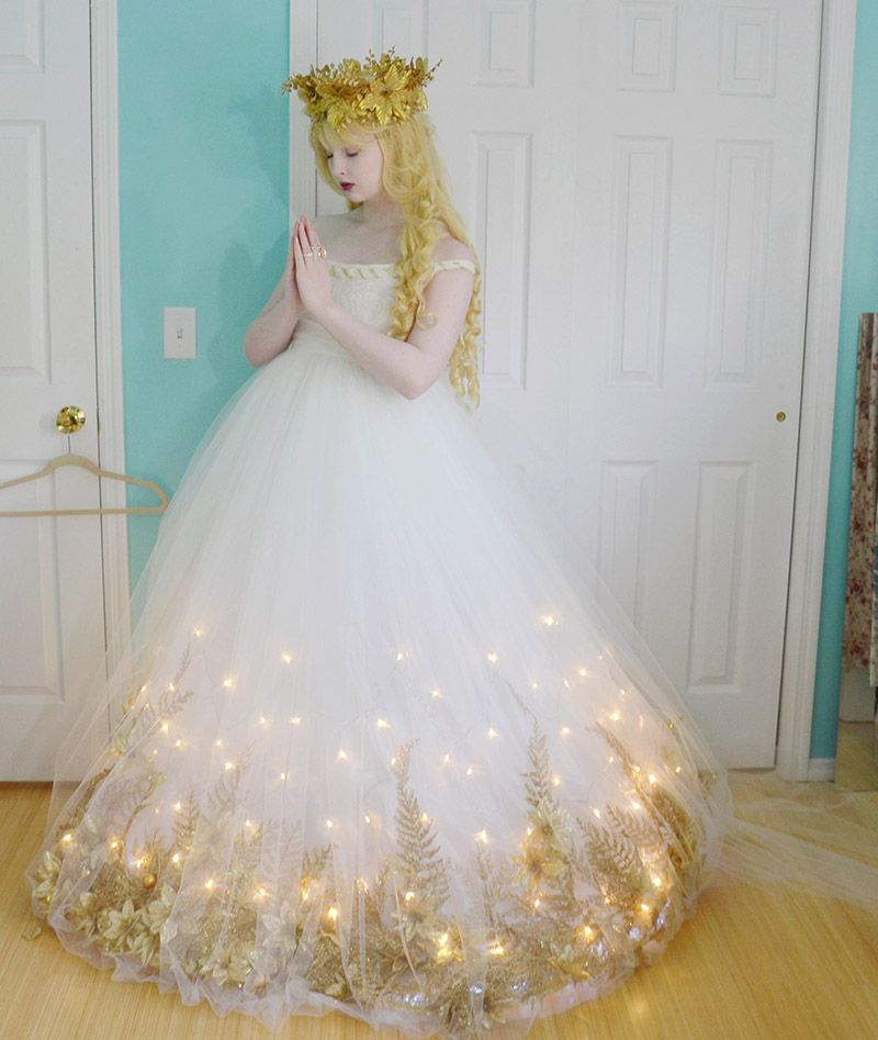 Making a Christmas Angel Costume, Part Two | Christmas ...