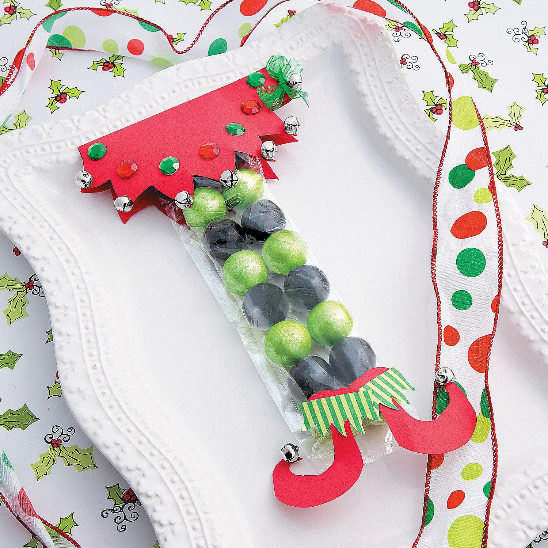 Paper Craft Elf Candy Favor