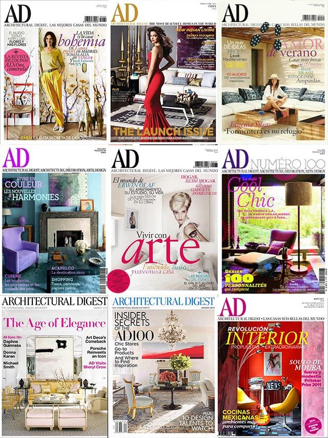 Best Interior Design Magazines Architectural Digest