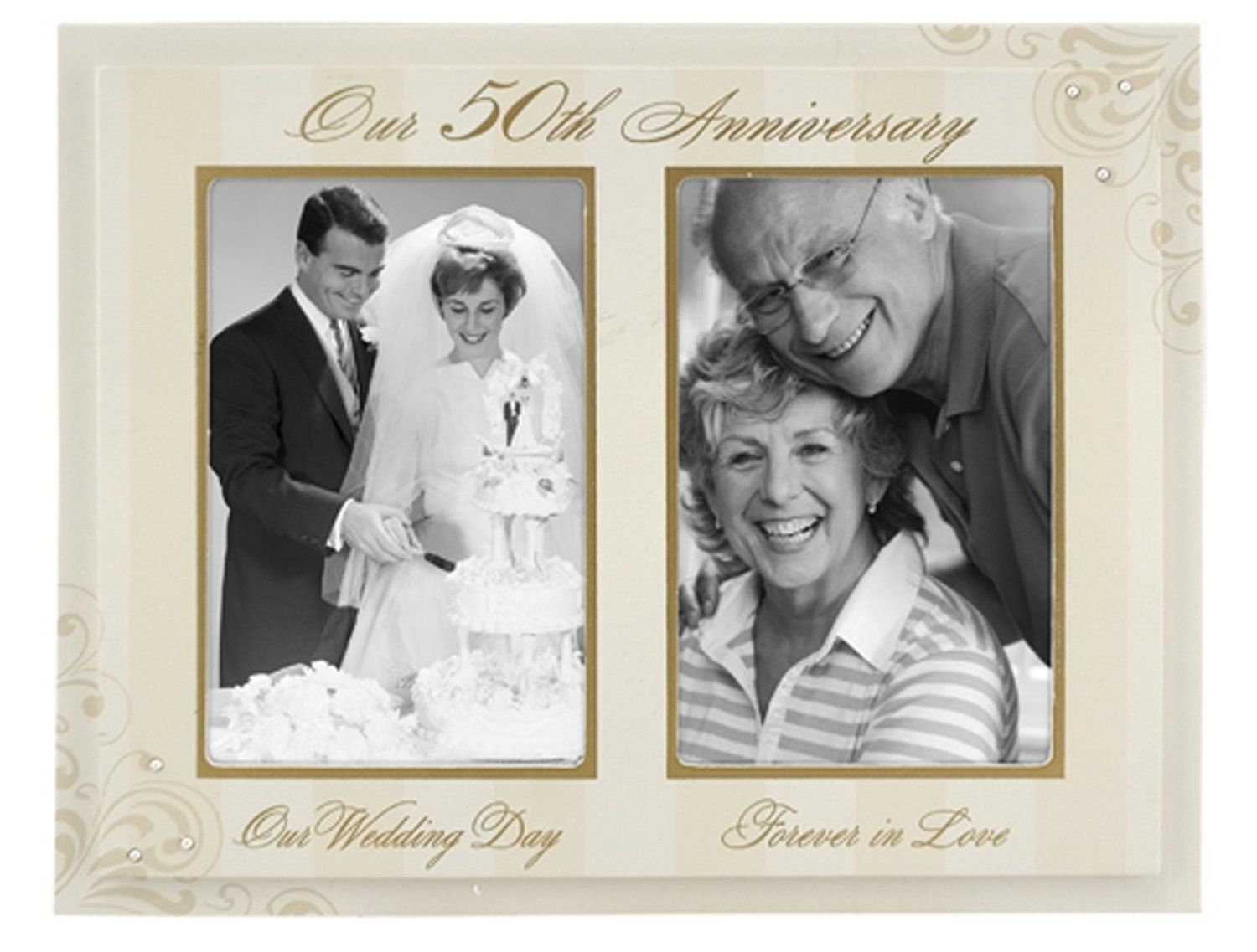 The Golden Years 50th Wedding Anniversary Gift Ideas For Pas