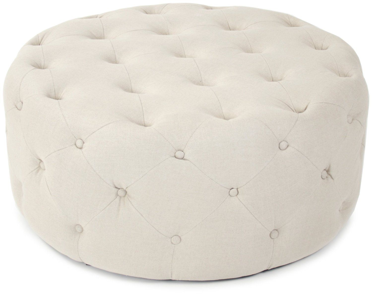 Large Round Ottoman/coffee Table   $520