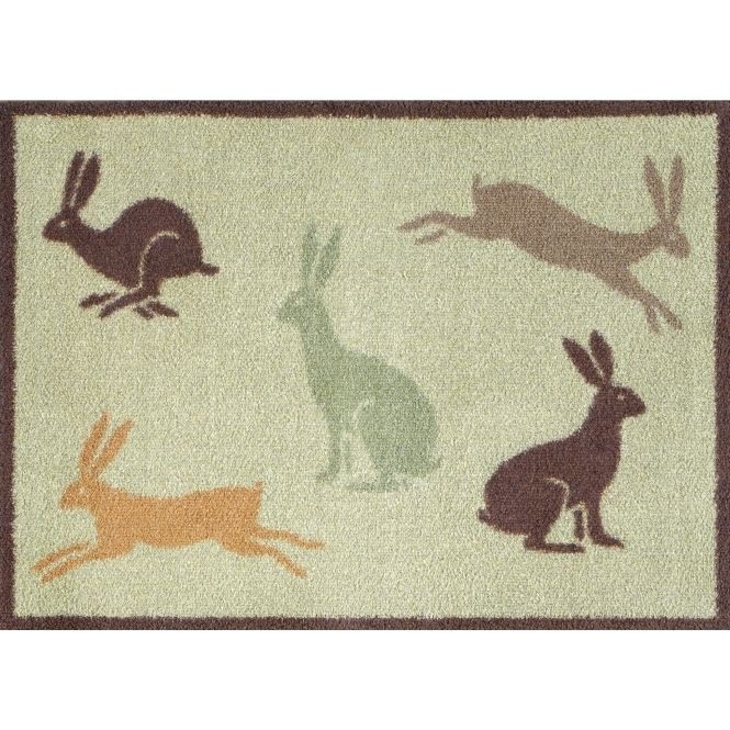 Turtle Mat Country Living Hares Indoor Door Mat