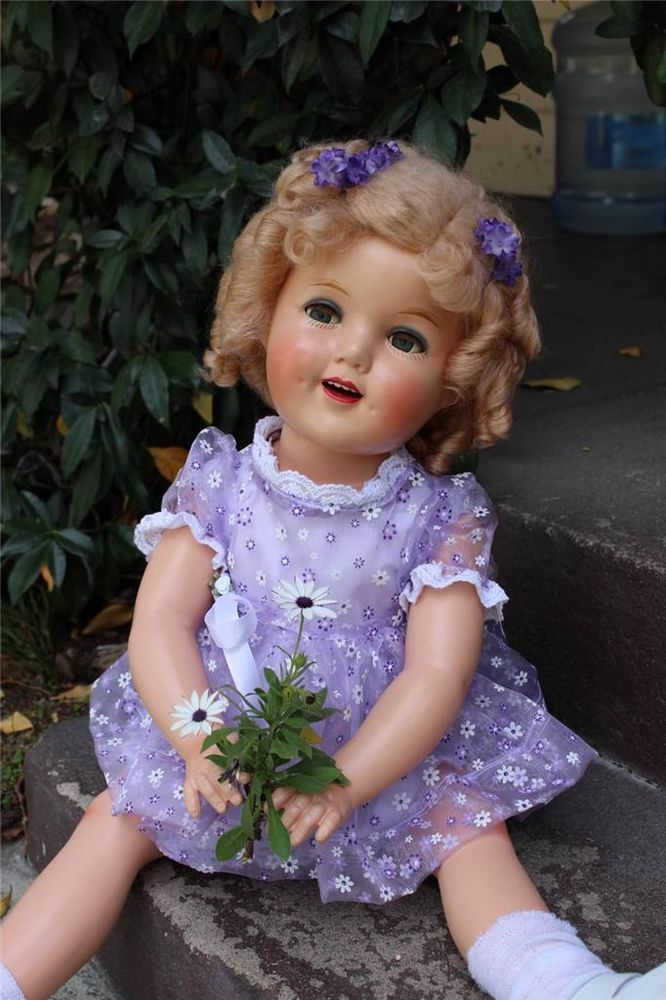 """Doll Doctor Renew Your Composition Shirley Temple Doll Crystallized Eyes 13-27/"""""""