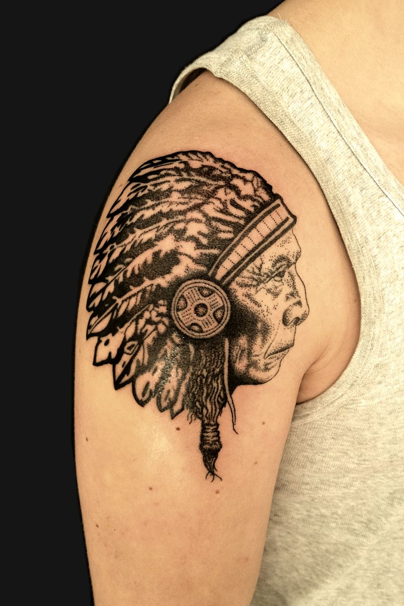 Indian head tattoo designs indian tattoos designs ideas and indian head tattoo designs indian tattoos designs ideas and meaning buycottarizona Image collections