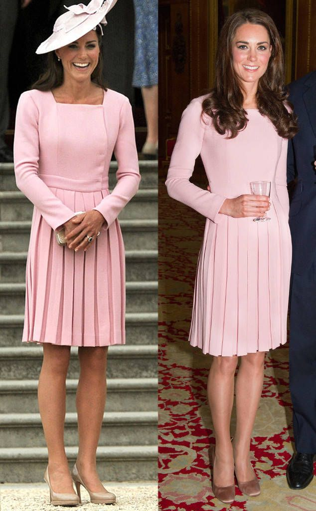 Emilia Wickstead Dress in Pastel Pink from Kate Middleton\'s Recycled ...