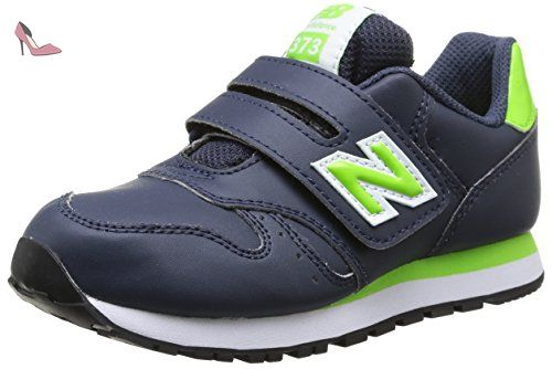 New Balance KJRUSV2 Pre Running Shoe (Little Kid), Black/Silver, 33 M EU