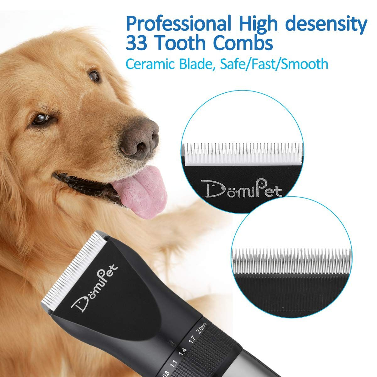Domipet Dog Electric Clipper Pets Shaver Cats Grooming Trimmers Professional 360a Rechargeable Cordless With Images Dog Grooming Grooming Dog Grooming Supplies