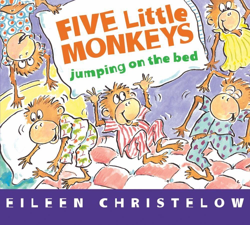 Five Little Monkeys Jumping on the Bed (board Book) Five