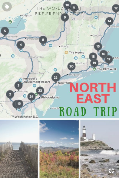 Northeast Road Trip - DQ Family Travel #usroadtrip