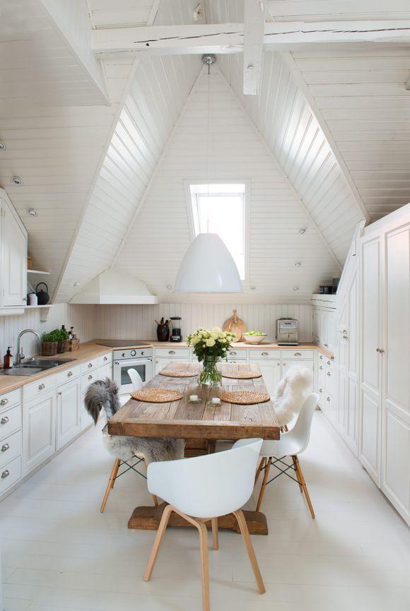 Photo of Bilderesultat for liten stue med peis og trappdekor