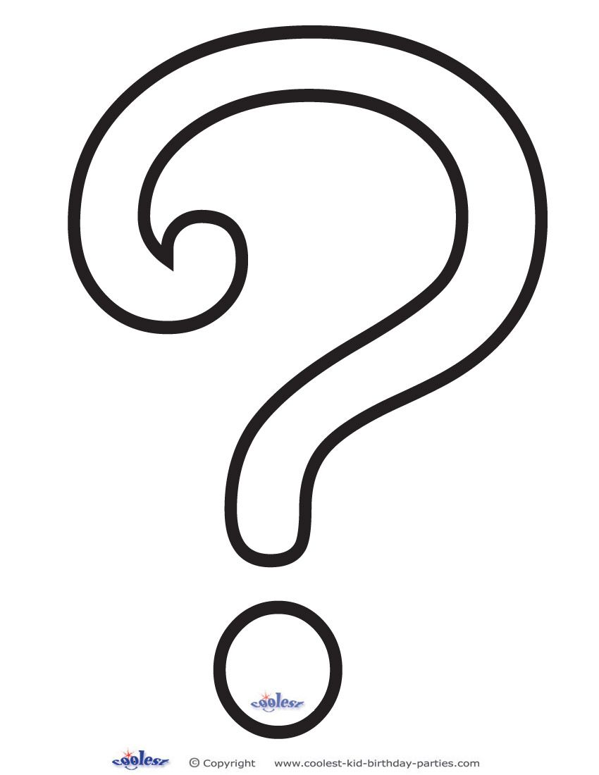 Printable Question Mark 4 Decoration This Or That Questions