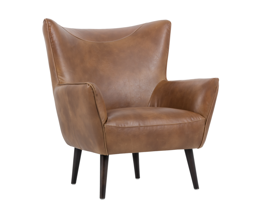 LUTHER OCCASIONAL CHAIR TOBACCO TAN Occasional Chairs