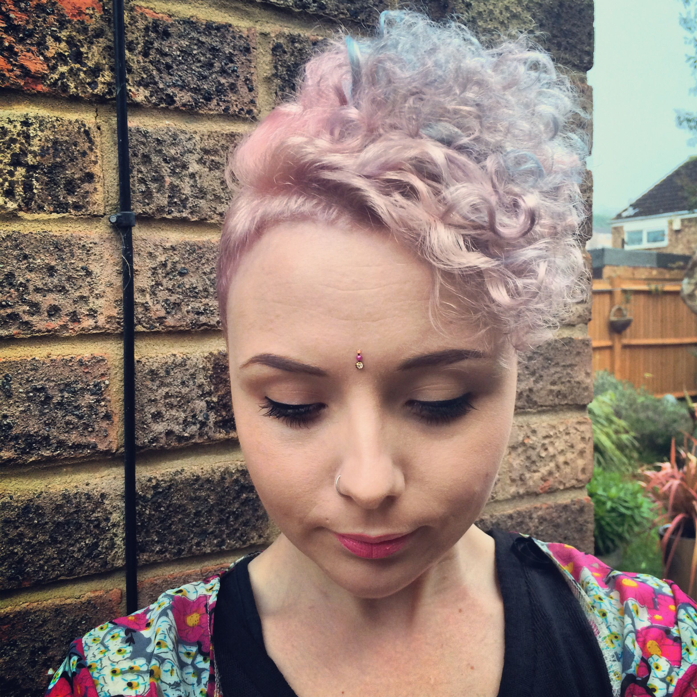 Pin By Amber Pickett On Hair Bleached Hair Hair Curly Hair Styles