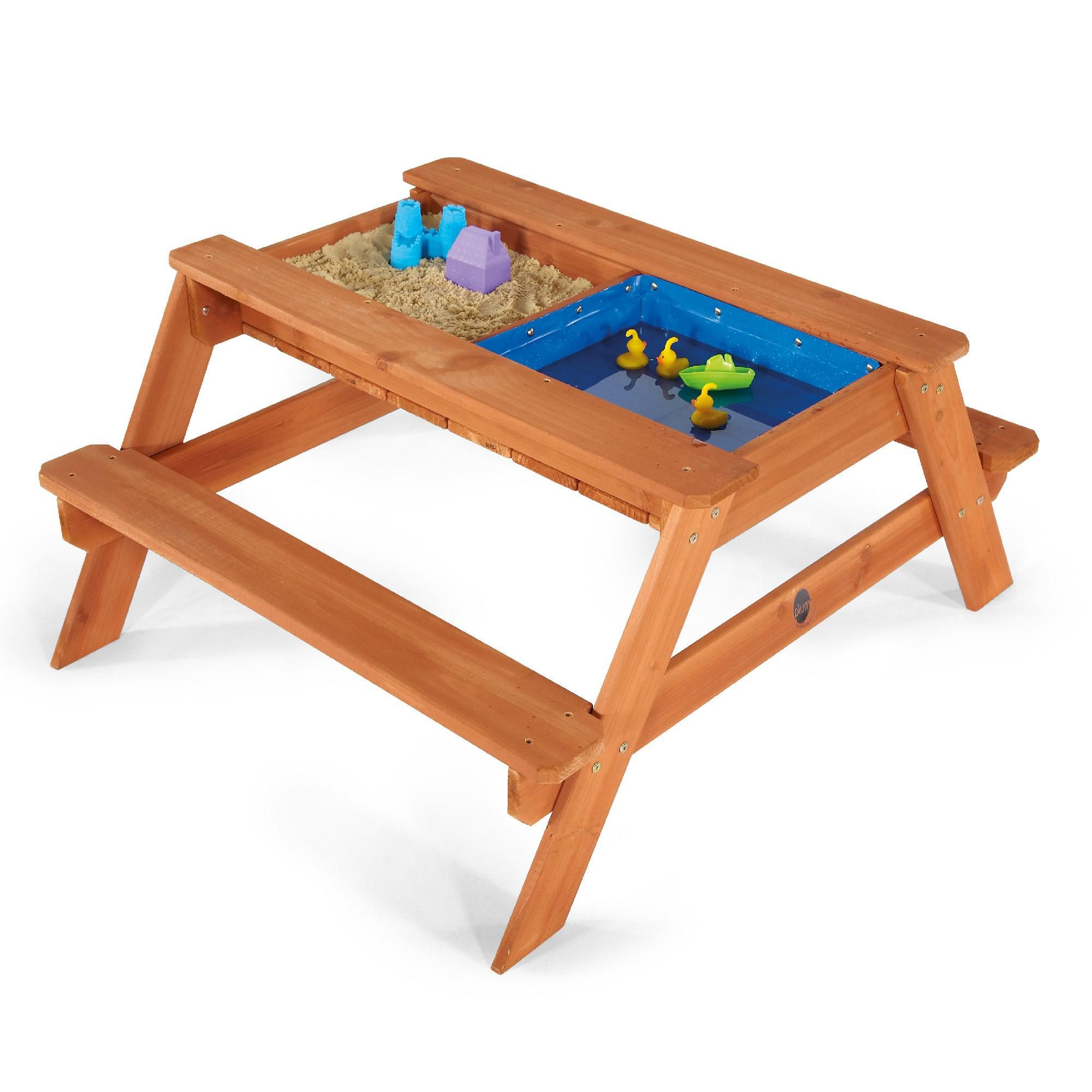 Incredible Surfside Sand Pit Water Wooden Picnic Table Christmas Pabps2019 Chair Design Images Pabps2019Com