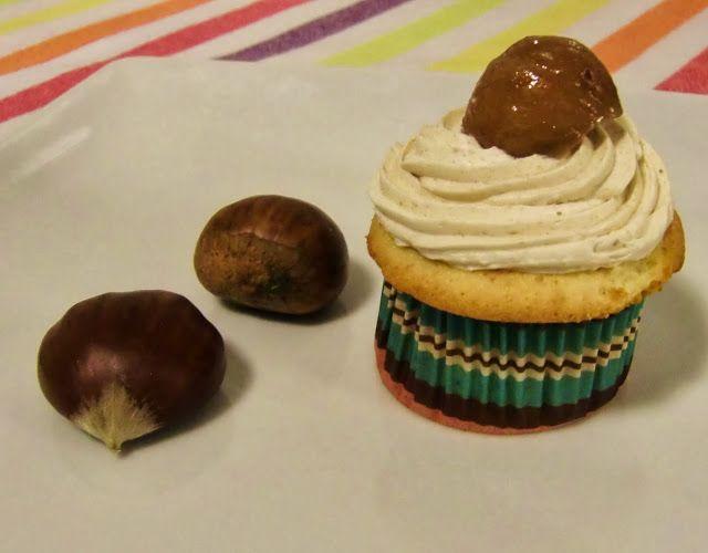 A Tixola de Hio: Cupcakes de castaña http://atixoladehio.blogspot.com.es/2013/11/cupcakes-de-castana.html