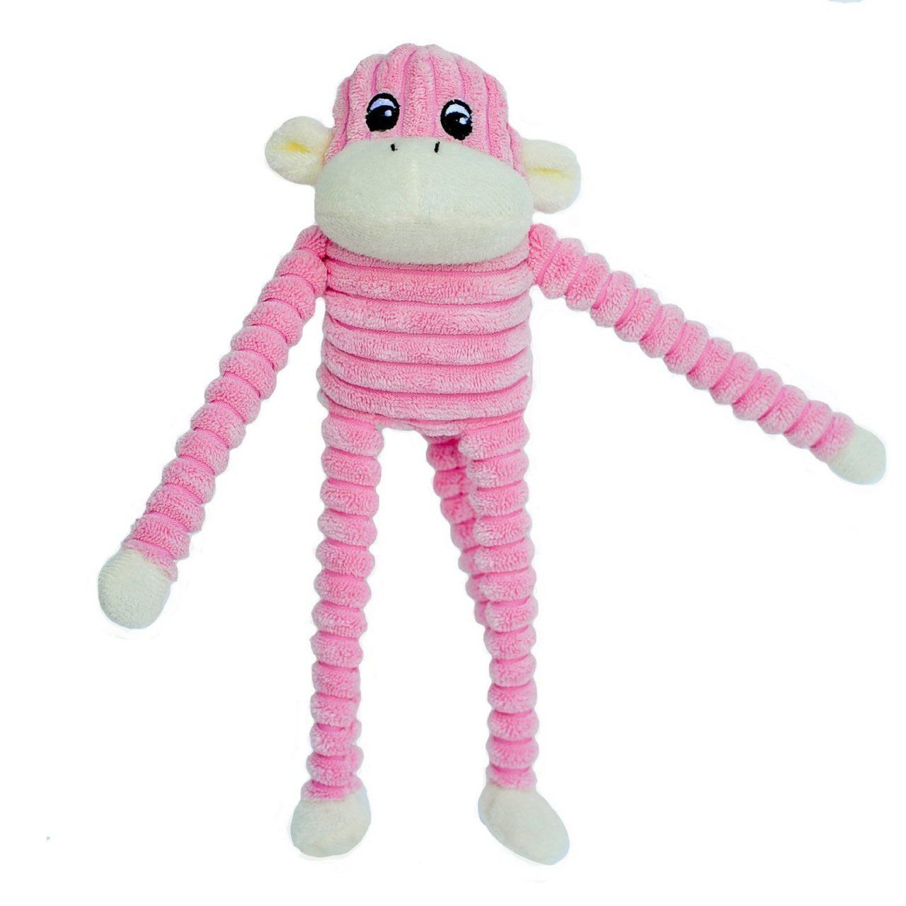 Pink Plush Squeaker Monkey Dog Toy Small Dog Toys Dog Toys