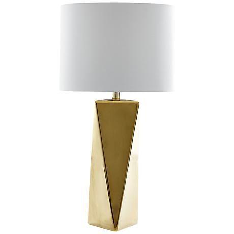 Possini Euro Leala Faux Marble Table Lamp   #9J676   Lamps Plus