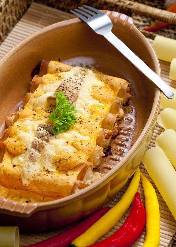 Canelones a la catalana  Recipes Cocina Selecta  Ethnic