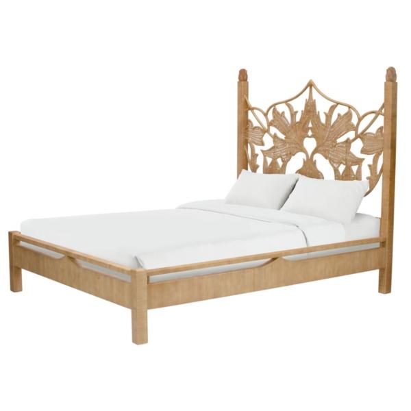 Rattan Artichoke Bed Queen Queen beds, Bed, Bed frame
