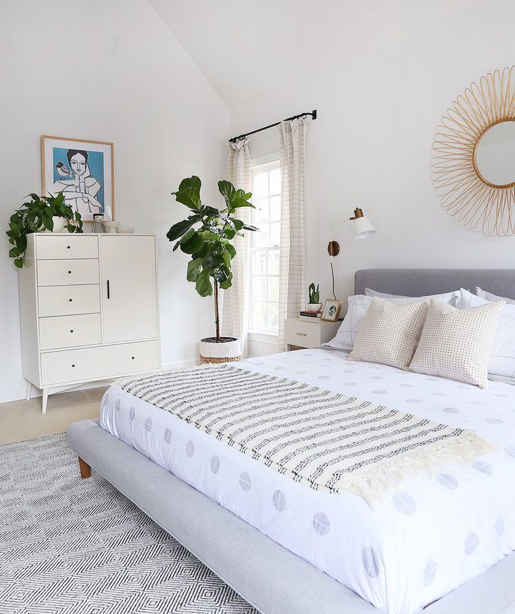 My calm & neutral bedroom