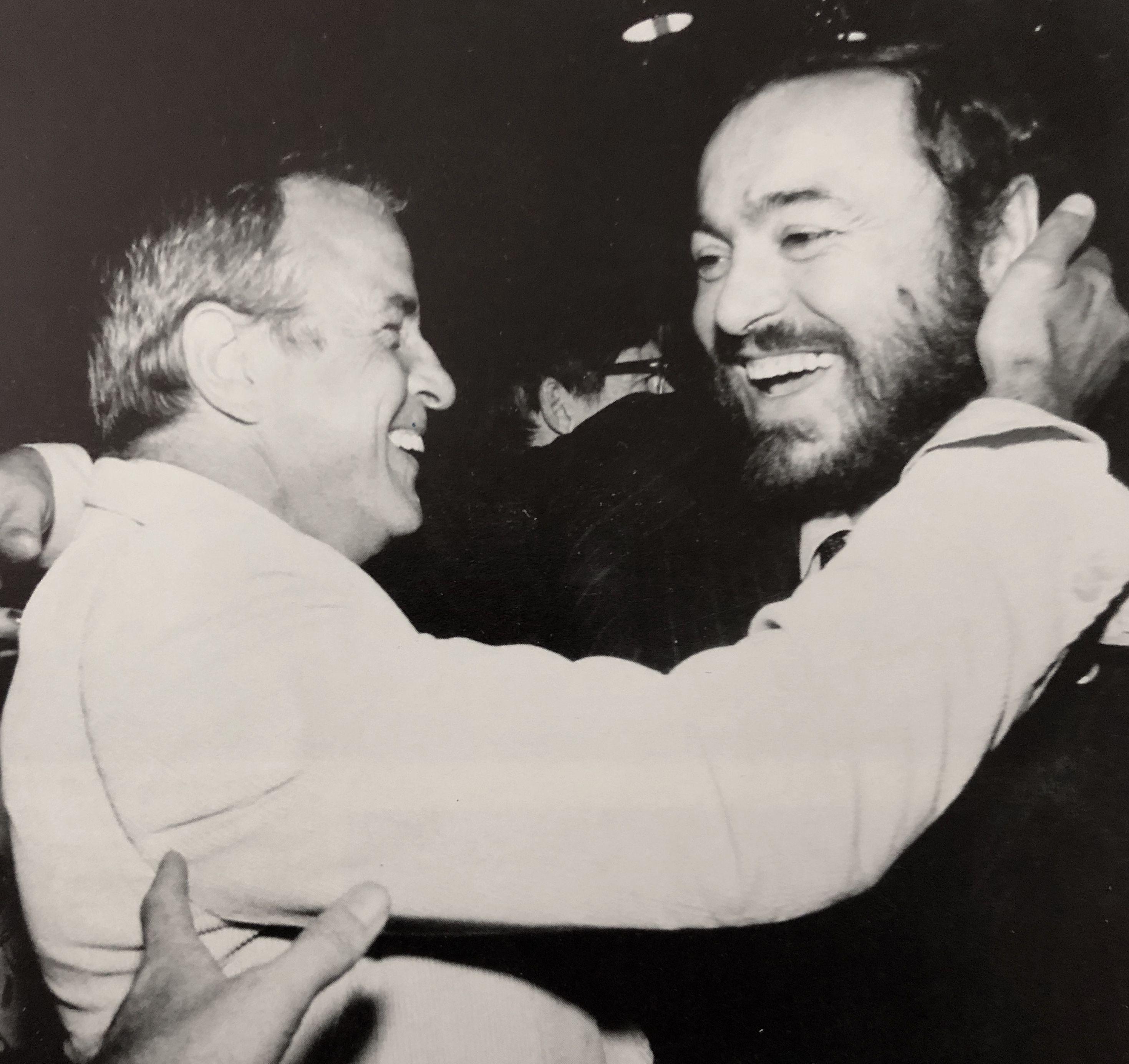 Luciano Pavarotti And Franco Zeffirelli Learn Music Nostalgia Opera