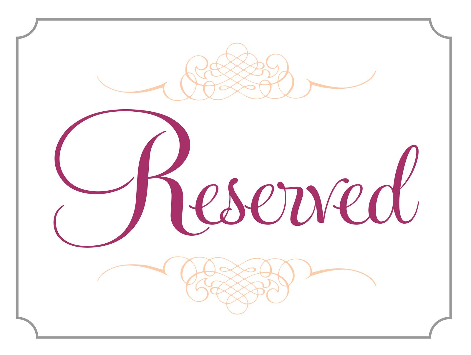 The Charming 008 Template Ideas Free Printable Reserved Table Signs Word Throughout Reserved Cards Fo Reserved Table Signs Sign Templates Trading Card Template