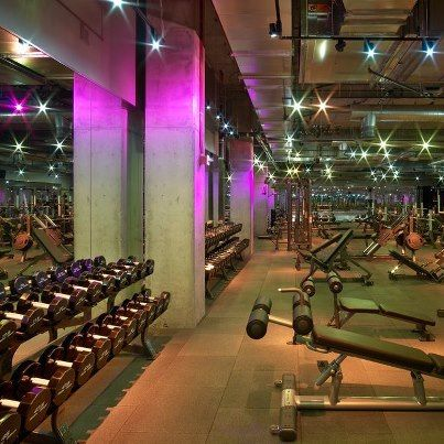 Disco gym oh yeah my kind of environment what i do best