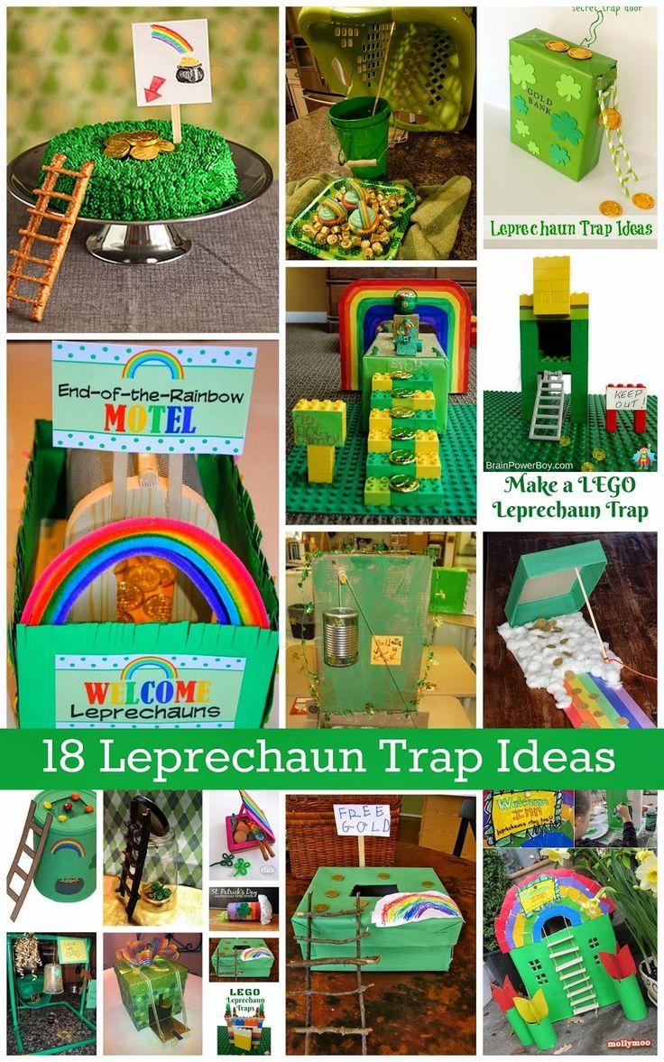 18 Leprechaun Trap Ideas