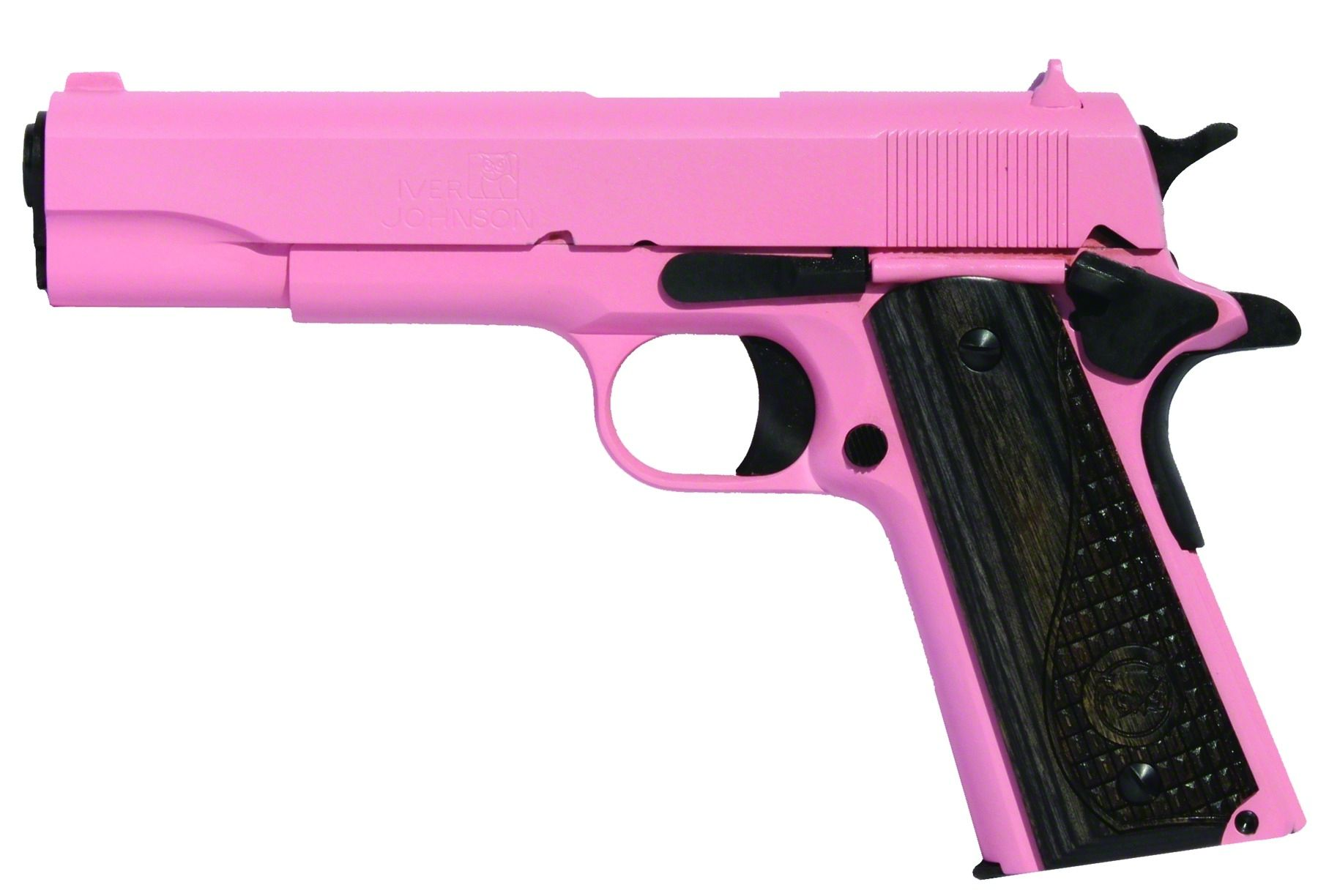 iver johnson 1911a1 pink pistol 1911 45acp pink cerakote