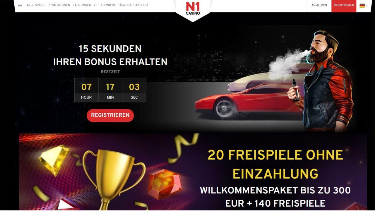 N1 Casino Bonus - Was zum Himmel ist N1? Und was soll die Dampfe?…
