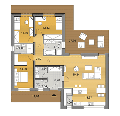 House Plans Choose Your House By Floor Plan Djs Architecture Small House Floor Plans Bungalow House Plans Bungalow Floor Plans