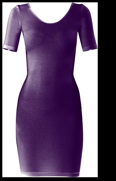"Very pretty dark ""Purple Passion"" Bodycon dress by Khoncepts"