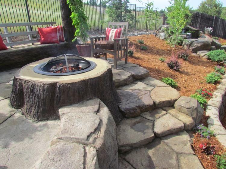 foyer ext rieur dans le jardin 50 id es remarquables pour vous chemin es d 39 ext rieur id es. Black Bedroom Furniture Sets. Home Design Ideas