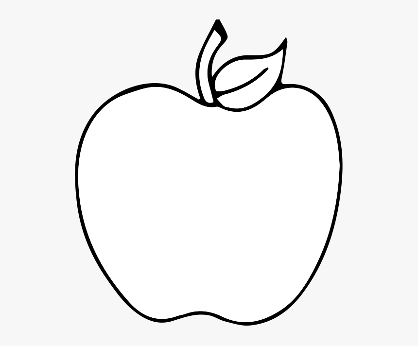 Black And White Apple Drawing Clip Art Black And White Apple Silhouette Clip Art Hd Png Download Is Free Apple Clip Art Silhouette Clip Art Apple Silhouette