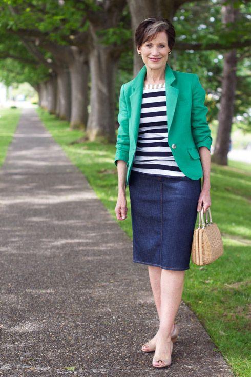 26 best ideas about Denim Skirts on Pinterest   Dark denim, Knee ...