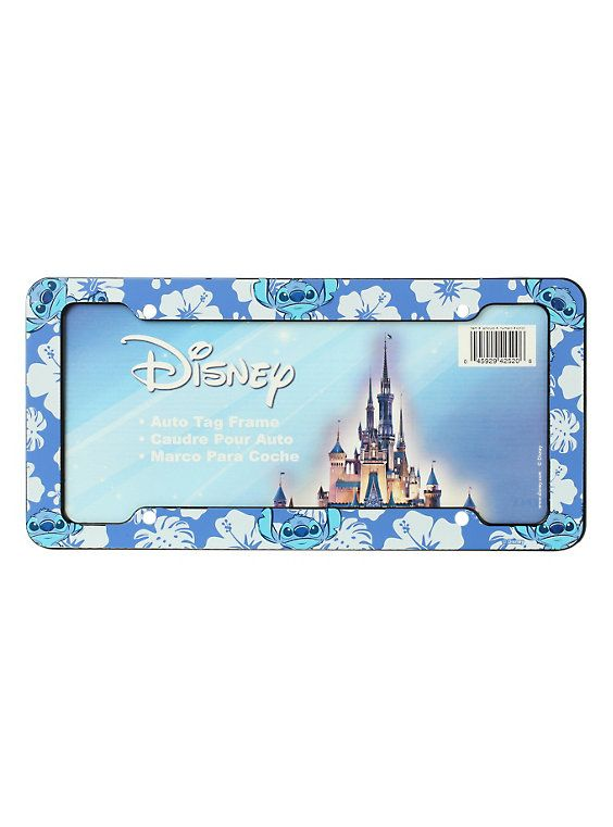 Disney Lilo & Stitch License Plate Frame | Pinterest | Stitch de ...