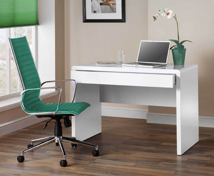White Computer Desk   High Gloss for Home or Office. White Computer Desk   High Gloss for Home or Office   new room