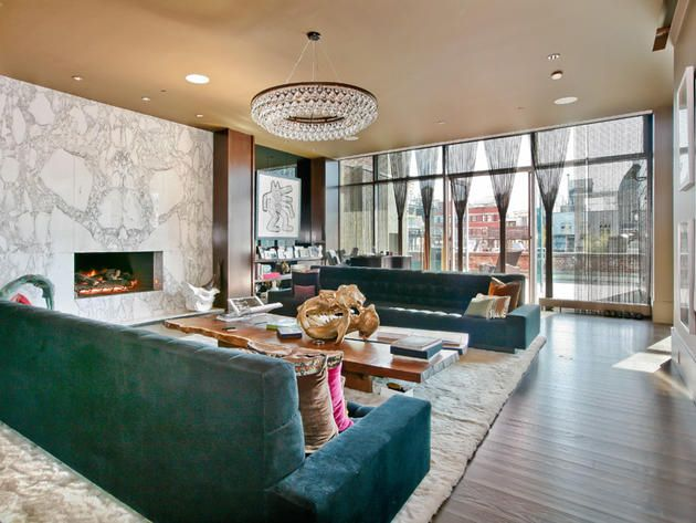 Alicia Key's Soho apartment