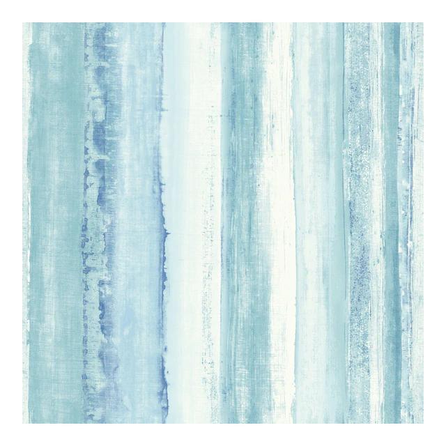 Roommates Watercolor Stripe Peel Stick Wallpaper In 2021 Peel And Stick Wallpaper Striped Wallpaper Blue Watercolor