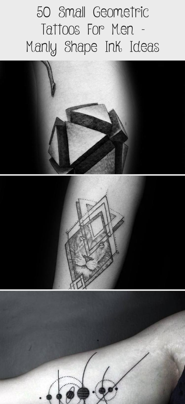 45+ Best Small geometric tattoos for guys image HD