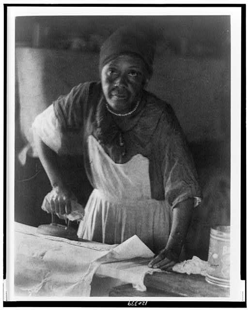 African American Woman Ironing African American Women African American African