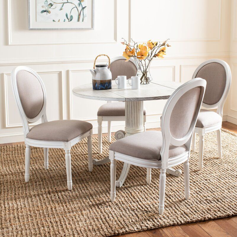 Falgoust Upholstered King Louis Back, King Louis Dining Room Chairs