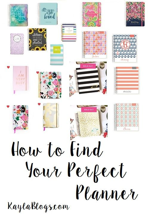 perfect planners for college students college pinterest