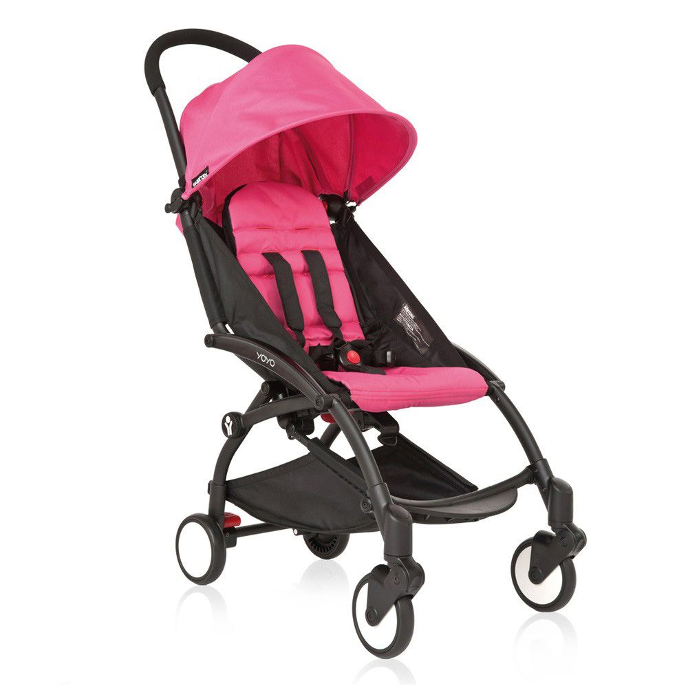 Babyzen Yoyo Stroller Bundle Black Frame + Seat Pad